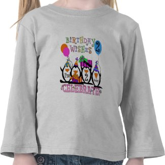 Silly Penguins 2nd Birthday T-shirts and Gifts shirt