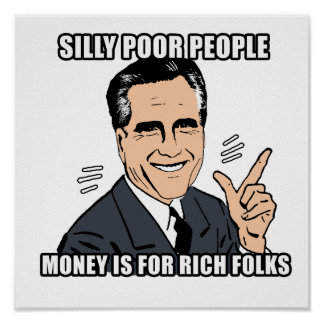 silly poor people - .png poster