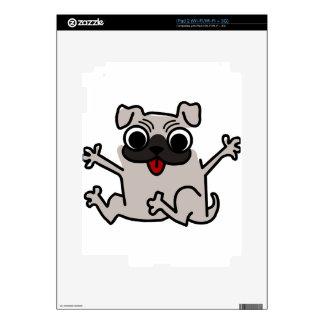 silly pug dog iPad 2 skins