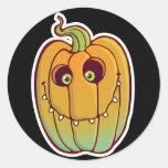 Silly Pumpkin sticker