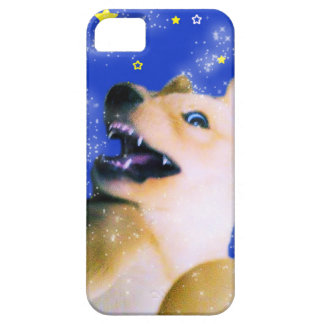 Silly Pup in Space iPhone SE/5/5s Case