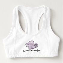 Silly Purple Monster Women's Sports Bra