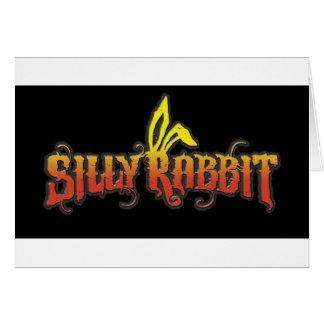Silly Rabbit Card