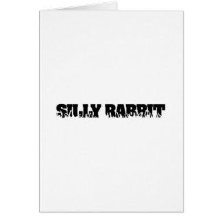 Silly Rabbit Merchandise Card
