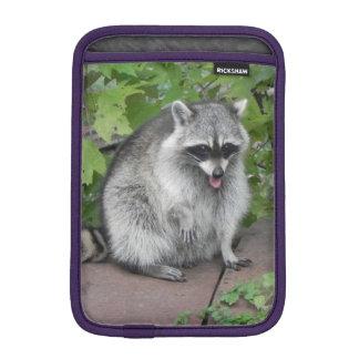 Silly Raccoon Photo Sleeve For iPad Mini