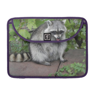 Silly Raccoon Photo Sleeve For MacBook Pro
