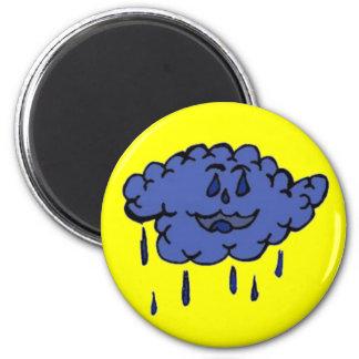 Silly Rain cloud Fridge Magnets
