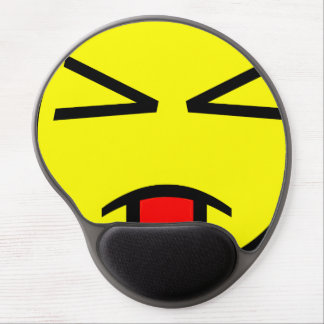Silly Razzie Face Gel Mouse Pad