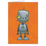 Silly Robot Greeting Card