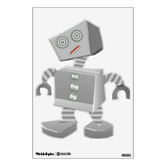 Silly Robot Wall Decal