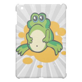 silly sad cartoon froggy frog iPad mini covers