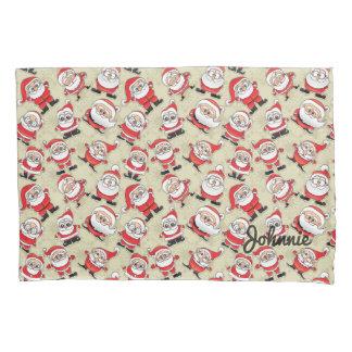 Silly Santa Claus Magoo Pillow Case