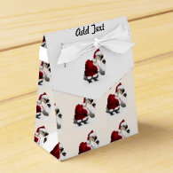 Silly Santa Goose - A Web Footed Christmas Favor Box