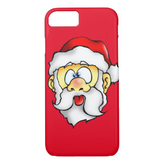 Silly Santa taking a Selfie iPhone 7 Case