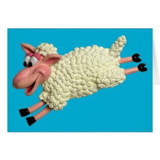 Silly Sheep Card