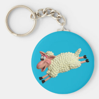 Silly Sheep Keychain