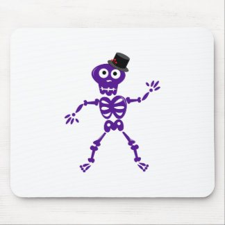 Silly Skeleton Mouse Pads
