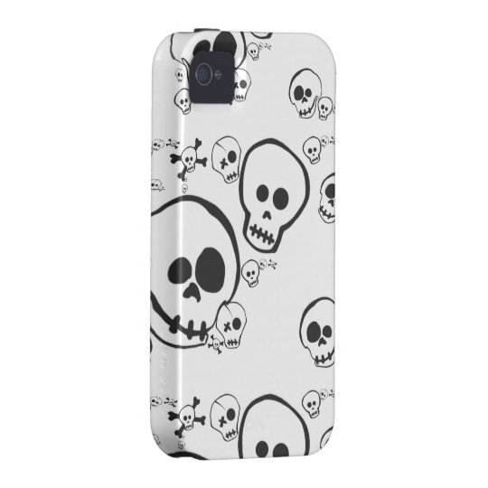 Silly Skullies Vibe iPhone 4 Case