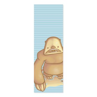 Silly Sloth Bookmark profilecard