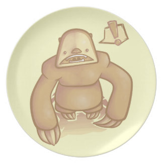 Silly Sloth Plate