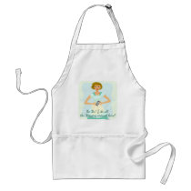 Silly Smart Phone Slogan Adult Apron