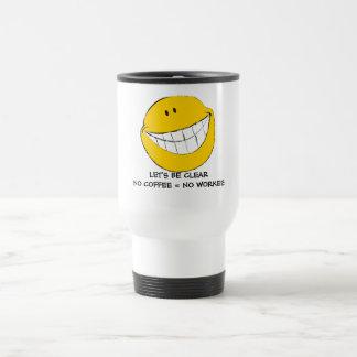 Silly Smiley Face Grin Travel Mug