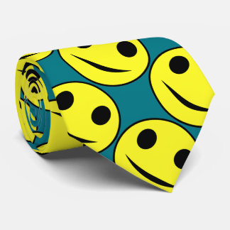 Silly smiley face Novelty Tie