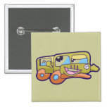 Silly Smiling Car Tshirts and Gifts Buttons