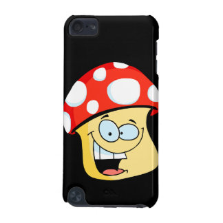 silly smiling mushroom toadstool cartoon character iPod touch 5G case