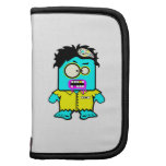 silly smyk zombie cartoon character folio planners