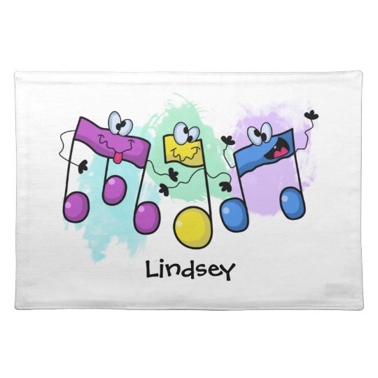 Silly Song Cloth Placemat