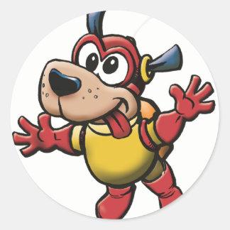 Silly SpaceDog Sticker