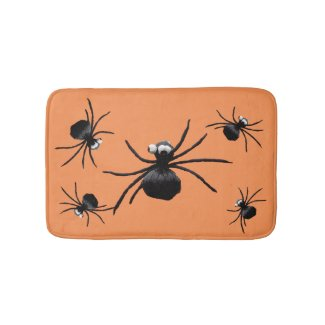 Silly Spiders Bath Mats