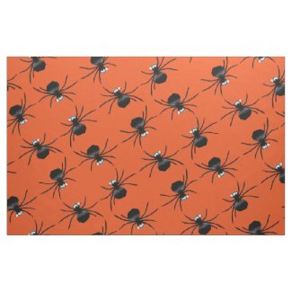 Silly Spiders Fabric