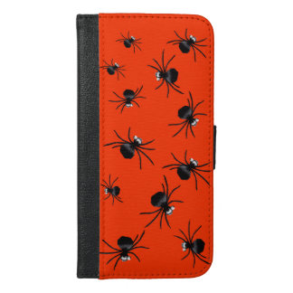 Silly Spiders iPhone 6 Plus Wallet Case