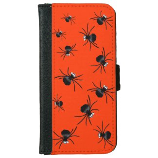 Silly Spiders iPhone 6 Wallet Case