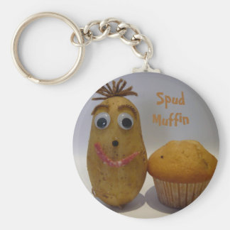 Silly Spud Muffin Keychain