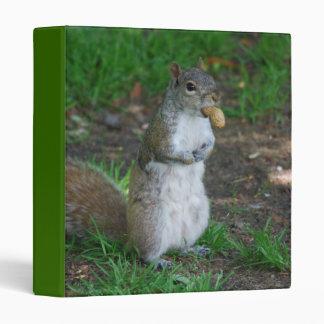 Silly Squirrel Binder