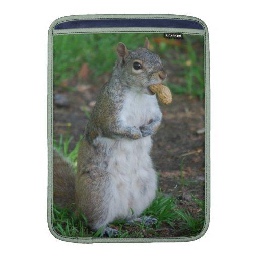 Silly Squirrel MacBook Sleeve