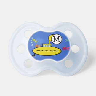 Silly Submarine Baby Pacifier