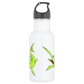 Silly Swordfish Stainless Steel Water Bottle