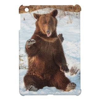 Silly Talking Bear iPad Mini Cover