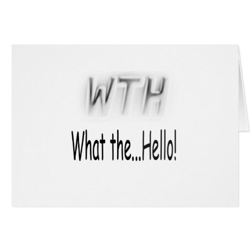 Silly Text Card