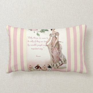 Silly Things - Jane Austen Quote Lumbar Pillow