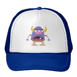 silly three-eyed ogre monster hat