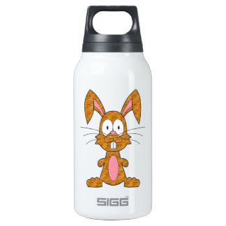 Silly Tiger Bunny Insulated Water Bottle