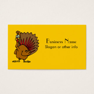 Silly Turkey Business Card