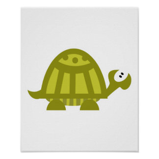 silly turtle poster