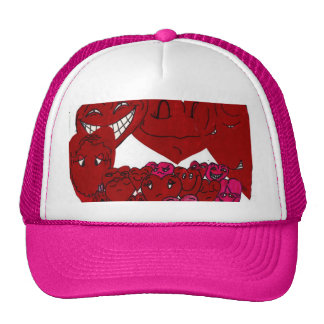 SILLY VALENTINE HEARTS hat