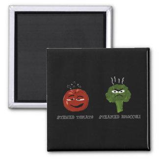 Silly Veggie Pun Vegetable Humor Funny Magnet